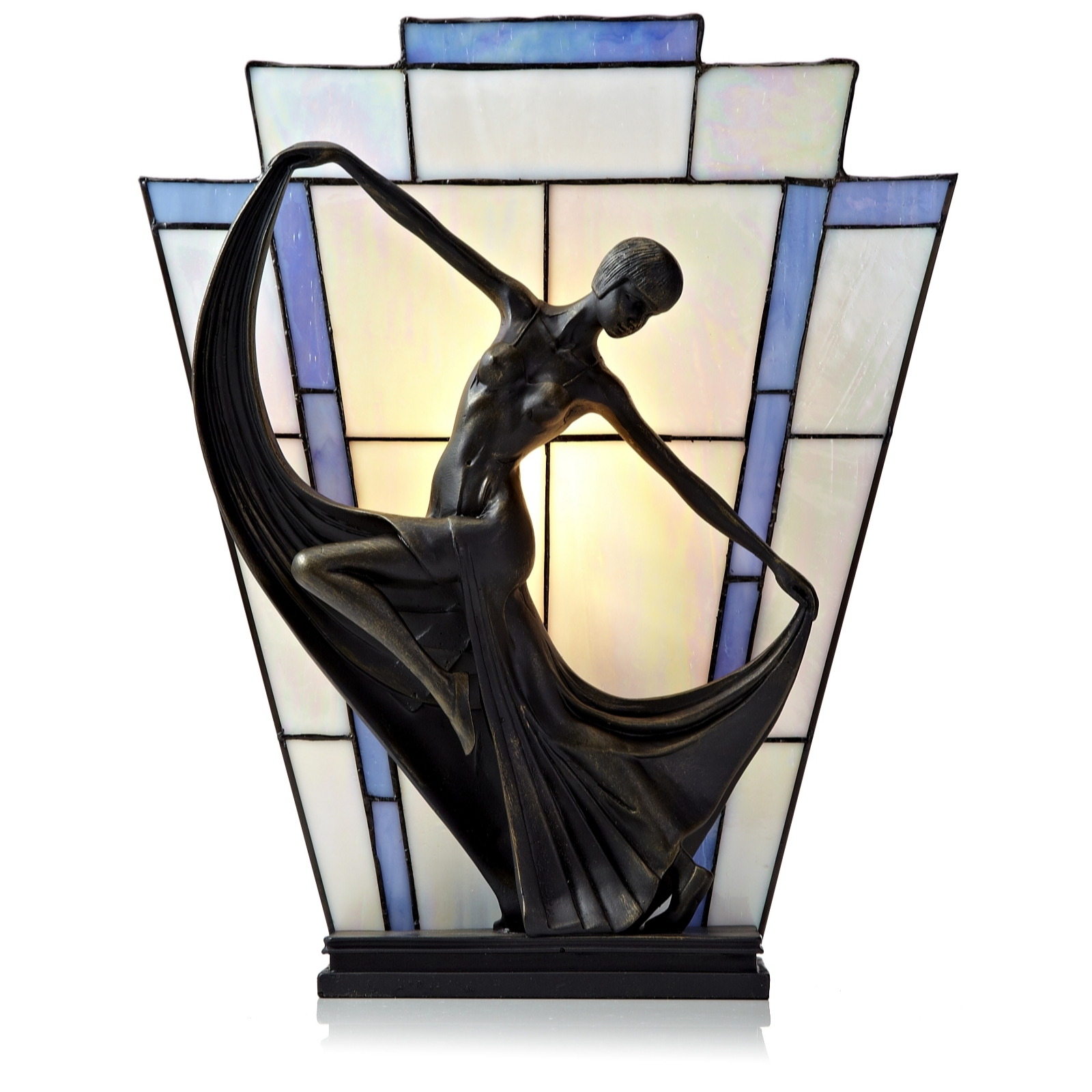 Tiffany Style lamp  ImageQVC 20yrs young and back to the 20 s   Daily Brew Reviews. Tiffany Style Lamps Qvc Uk. Home Design Ideas