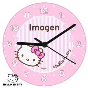 Personalised Hello Kitty Clock
