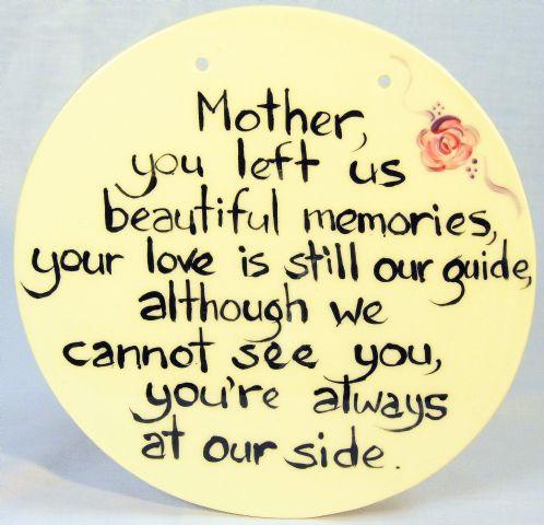memories of mothers